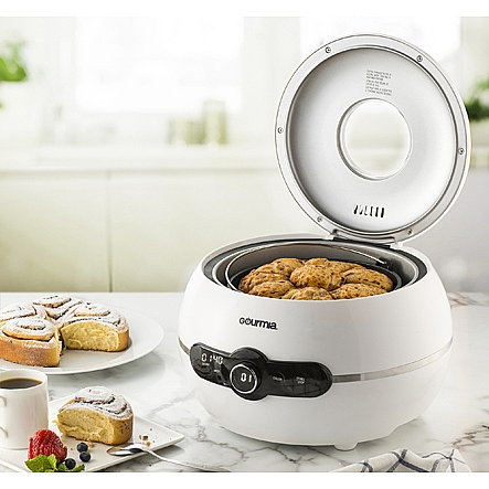 Bread Amp Cake Makers Gourmia Gcm3150 One Touch Mix Amp Bake