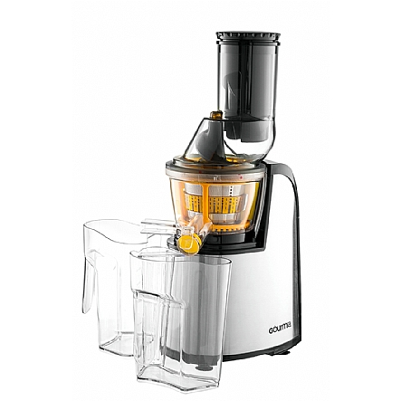 Jumbo Slow Juicer Signora : Juicers & Blender, Gourmia GSJ300 Wide Mouth Masticating Slow Juicer, Stainless Steel