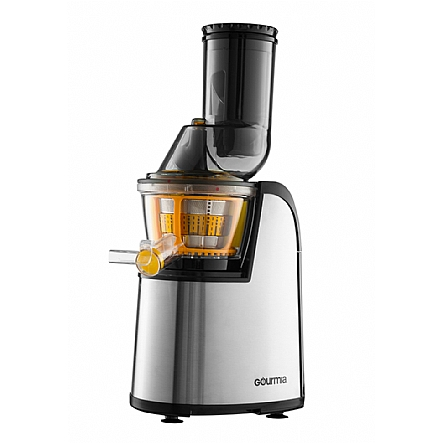 Juicers & Blender, Gourmia GSJ300 Wide Mouth Masticating Slow Juicer, Stainless Steel