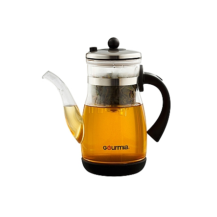 Gourmia Gtp9815 Tea Coffee Pot Gl Maker Combo With Stainless Steel Filter