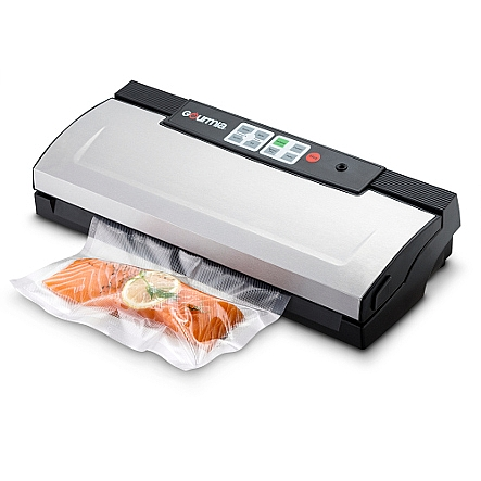 Gourmia Gvs435 Stainless Steel Vacuum Sealer Preserve Food Or For Sous