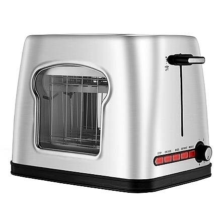 toasters gourmia gwt430 stainless steel wide slot toaster. Black Bedroom Furniture Sets. Home Design Ideas