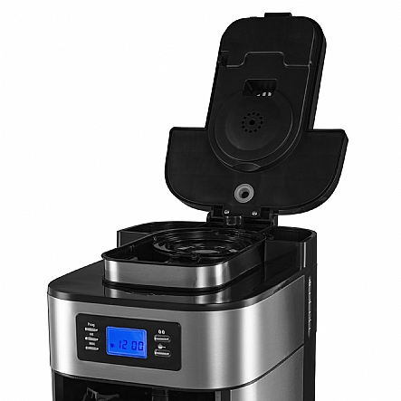 Coffee Maker With Grinder Built In : Coffee Machine, Gourmia GCM4500 Coffee Maker With Built In Grinder, Programmable 10 Cup ...