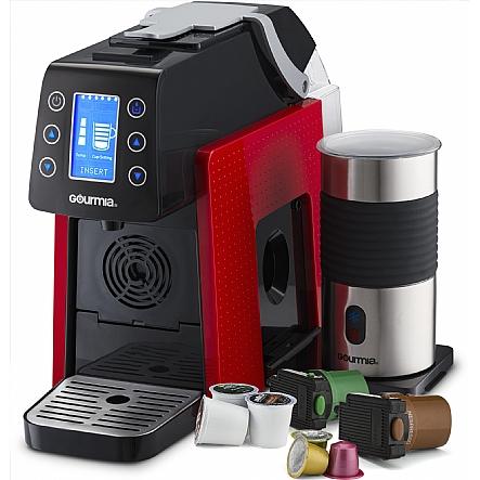 Capsule Coffee Maker Ny401 : Coffee Machine, Gourmia GCM5000 One Touch Multi Capsule Coffee Machine, Compatible With ...