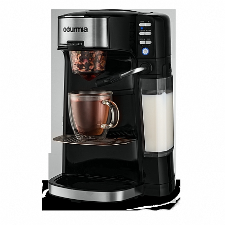 Gourmia Gcm6000 6 In 1 Single Serve Coffee Maker And Milk Frother Steamer Use