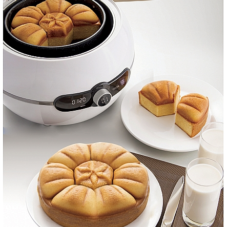bread cake makers gourmia gcm3150 one touch mix bake cake maker