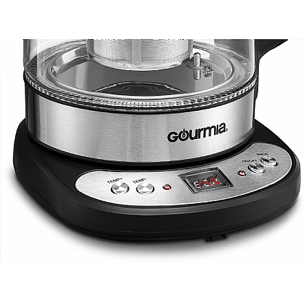 Tea Machine Amp Kettles Gourmia Gdk290 Electric Glass Tea